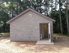 Aiken County Rec pump house