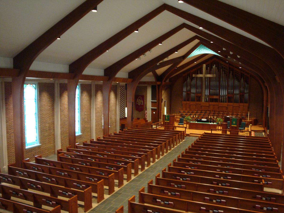 John United Methodist Church Sanctuary Renovations Stewart Builders