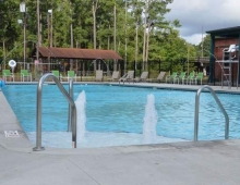 Aiken County Rec Pool all water jets