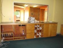 Clerk & Cash Window - Before