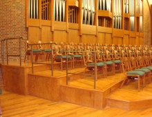 Choir Loft Railing