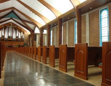 New Pews and Flooring